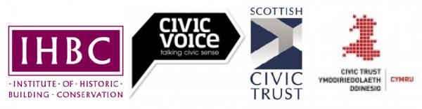 IHBC CV SCT WCT logos